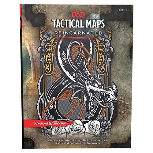 Dungeons & Dragons Tactical Maps Reincarnated (D&D Accessory) (Dnd Dungeon Tiles)