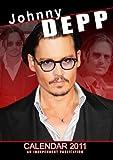 Johnny Depp 2011 Wall Calendar DR36-11