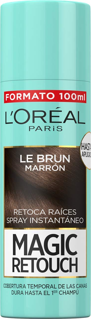 L'Oréal Paris Magic Retouch Spray Retoca Raíces Marrón 100 ml
