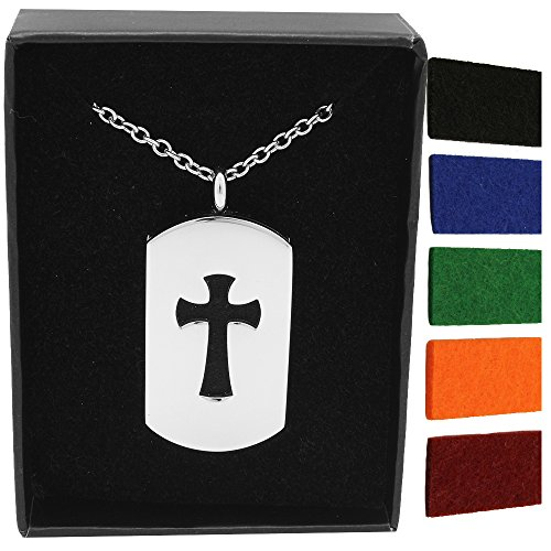 AromaRain Cross Diffuser Necklace Hypoallergenic