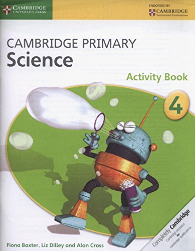 Cambridge Primary Science Stage 4 Activity Book