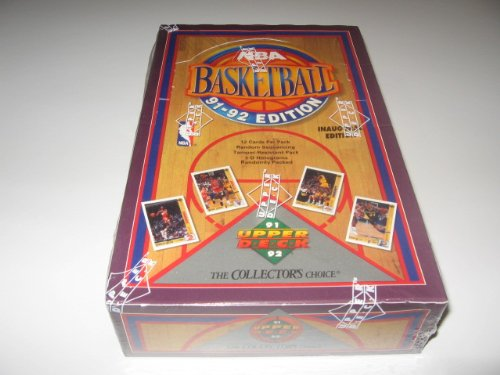 1991/92 Upper Deck Basketball Low Series Box (1991 92 Upper Deck)
