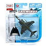 f series helicopter parts - McDonnell Douglas AV-8B Harrier II Jet Fighter (Marines) * Tailwinds * 2011 Maisto Fresh Metal Series Die-Cast Airplane Collection
