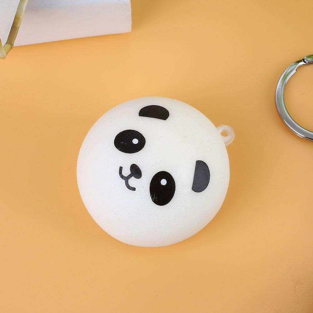 Panda Squishy Toy, Llavero Squishy Novelty 4Cm PU teléfono ...