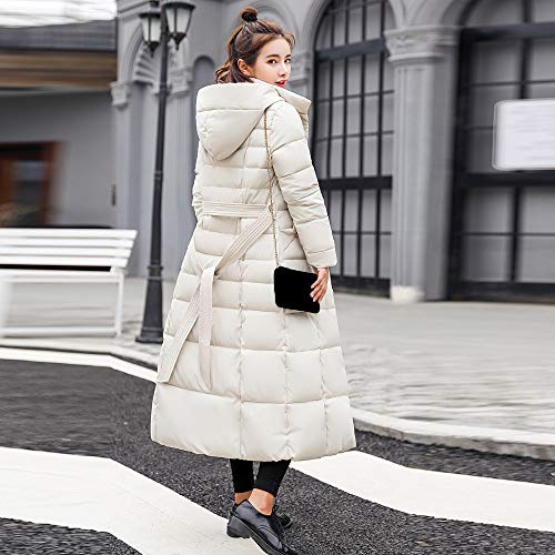 Lungo Outwear Cappuccio Basamento Imbottito Impermeabile Leggero Addensare Giubbotto Donna Trincea Bianca Giacca Invernali Homebaby Piuma Caldo Elegante Cappotto Piumino Cotone qw0wCURB