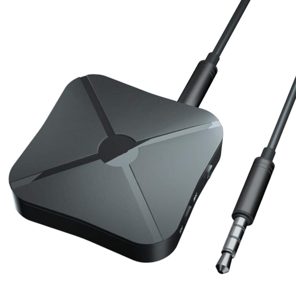 R/écepteur de Musique de Voiture Dadaptateur de L/émetteur TV sans Fil Bluetooth 4.2 libeauty R/écepteur Audio 2 en 1 de Bluetooth