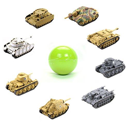 World Tank Museum - Miniature World Tank Museum Deformation Deutsche Panzerdivision 2nd Vol. Blind Box Japanese Gashapon Capsule Toy (1 Random Mini Figure)