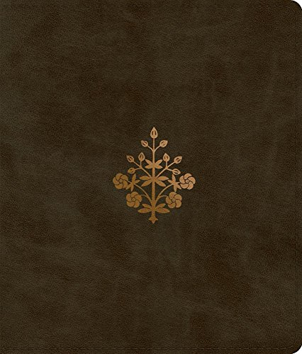 ESV Journaling Bible (TruTone, Olive, Branch Design)