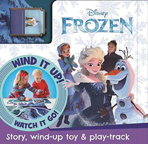 Disney Frozen: Busy Board with Wind-Up Car & Track