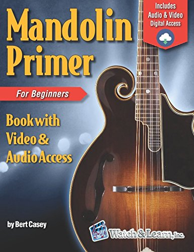 (Mandolin Primer Book for Beginners (Video & Audio)