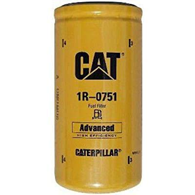 Caterpillar 1R-0751 Advanced High Efficiency Fuel Filter Multipack (Pack of 1): Automotive