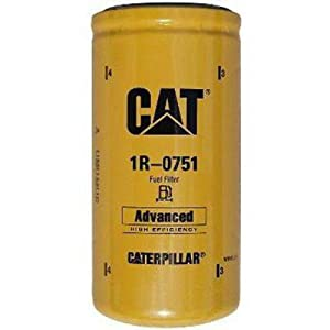 Caterpillar 1R-0751 Advanced High Efficiency Fuel Filter Multipack (Pack of 1)