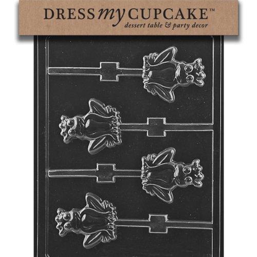 Frog Prince Cake - Dress My Cupcake Chocolate Candy Mold, Frog Prince Lollipop