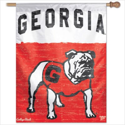 NCAA College Vault Georgia Bulldogs 28x40 Inch Vertical Flag