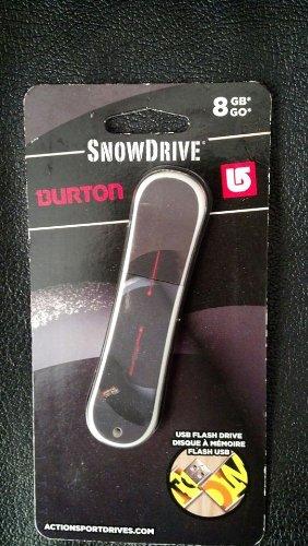 SNOWDRIVE BURTON 8 GB GO USB FLASH DRIVE