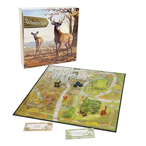 October Mountain Products White's Tail Board Game