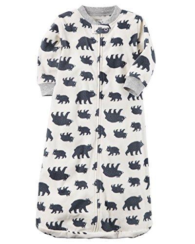 Fleece Sleepbag Sleepsuit, Bears, Medium 6-9 Months (Baby Sack)