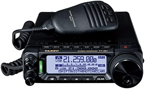 Yaesu Original FT-891 HF 50 MHz All Mode Analog Ultra Compact Mobile Base Transceiver – 100 Watts – 3 Year Warranty