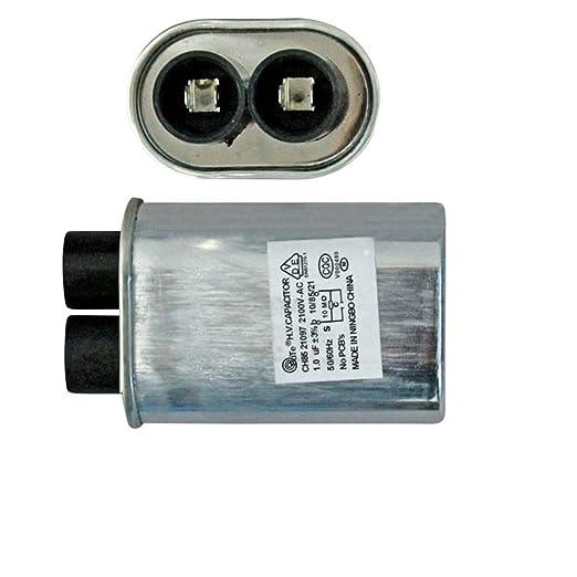 XuBa 0.92Uf 2100V Alta tensión HV Condensador de Repuesto para microondas Horno, 70×52×33mm