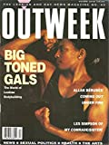 img - for OUTWEEK, The Lesbian and Gay News Magazine, The World of Lesbian Bodybuilding, Jan Austin on cover, 1990 book / textbook / text book