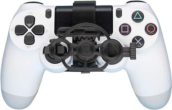 PS4 Gaming Racing Wheel (estándar), 3D Printed Mini Volante añadir para el Playstation 4 Controlador: Amazon.es: Electrónica