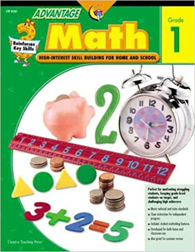 Amazon.com: Advantage Math Grade 1 (Advantage Workbooks ...