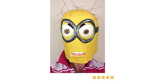 Adulto Minion Máscara Despreciable De Látex Minions Disfraz De ...