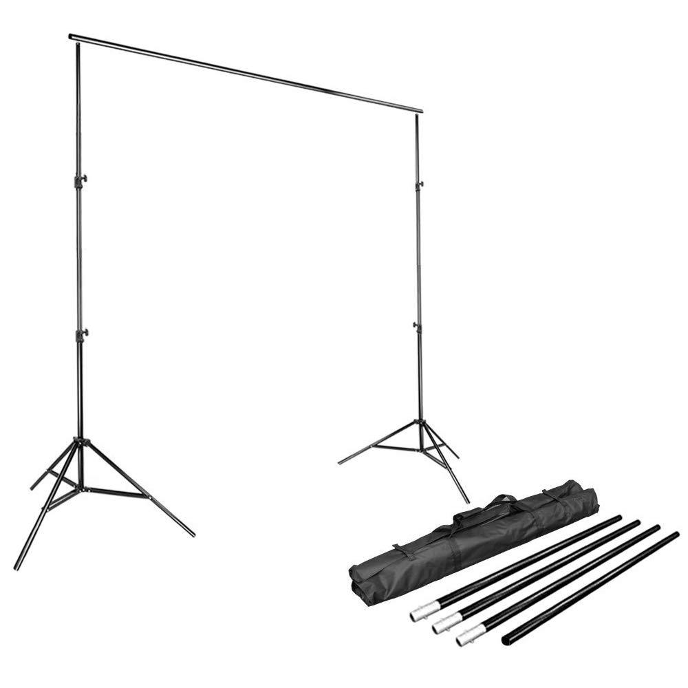 LimoStudio Photo Video Studio 10Ft Adjustable Muslin Background Backdrop Support System Stand, AGG1112 by LimoStudio
