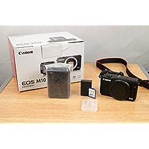 Canon EOS M10 Mirrorless Digital Camera (Black Body Only) - International Version (No Warranty)