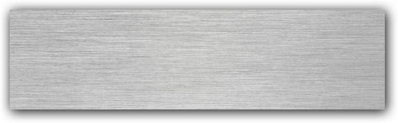 Schwimmendes Aussehen Geb/ürsteter Edelstahl Einfache Installation(8in //) nanly Moderne Hausnummer aus massivem hergestellt 304-GRO/ß 20.5 Zentimeter //8Zoll