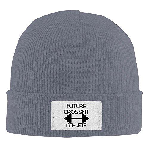 Future Crossfit Athlete Unisex Beanie Hat Cool Winter Hat Warm Hat Soft Knit Skull Beanie Cap For Men Women (Athlete Crossfit Christmas)