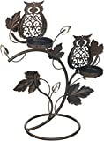 Wise Owl Duo Votive Stand (pack of 1 EA)