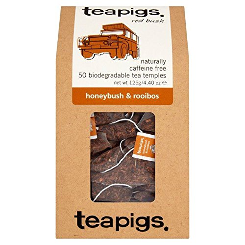Teapigs Honeybush & Rooibos - 50 per pack (0.28lbs) by teapigs