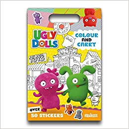 440 Ugly Dolls Coloring Book Best HD