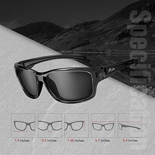 87a3f5122ab Flux Polarized Sports Sunglasses for Men and Women with Polycarbonate Lens  (Dynamic)