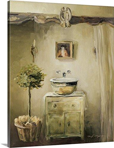 Marilyn Hageman Premium Thick-Wrap Canvas Wall Art Print entitled Provence Bath II 24