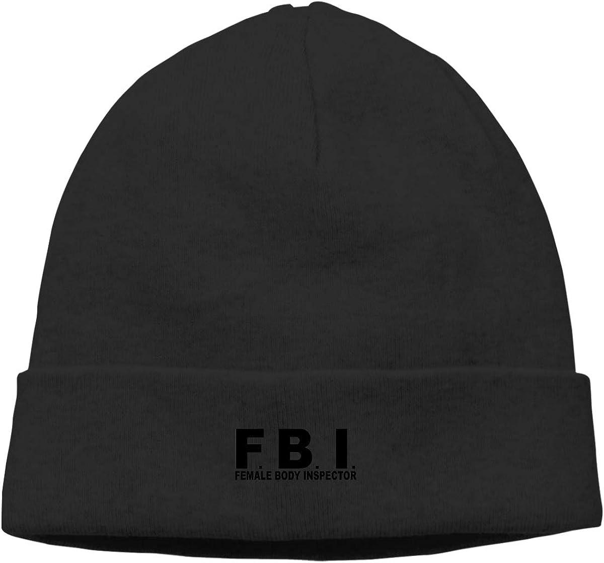 njsdi FBI Female Body Men Winter Summer Chunky Winter Hats