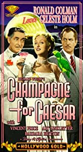Champagne for Caesar [VHS]