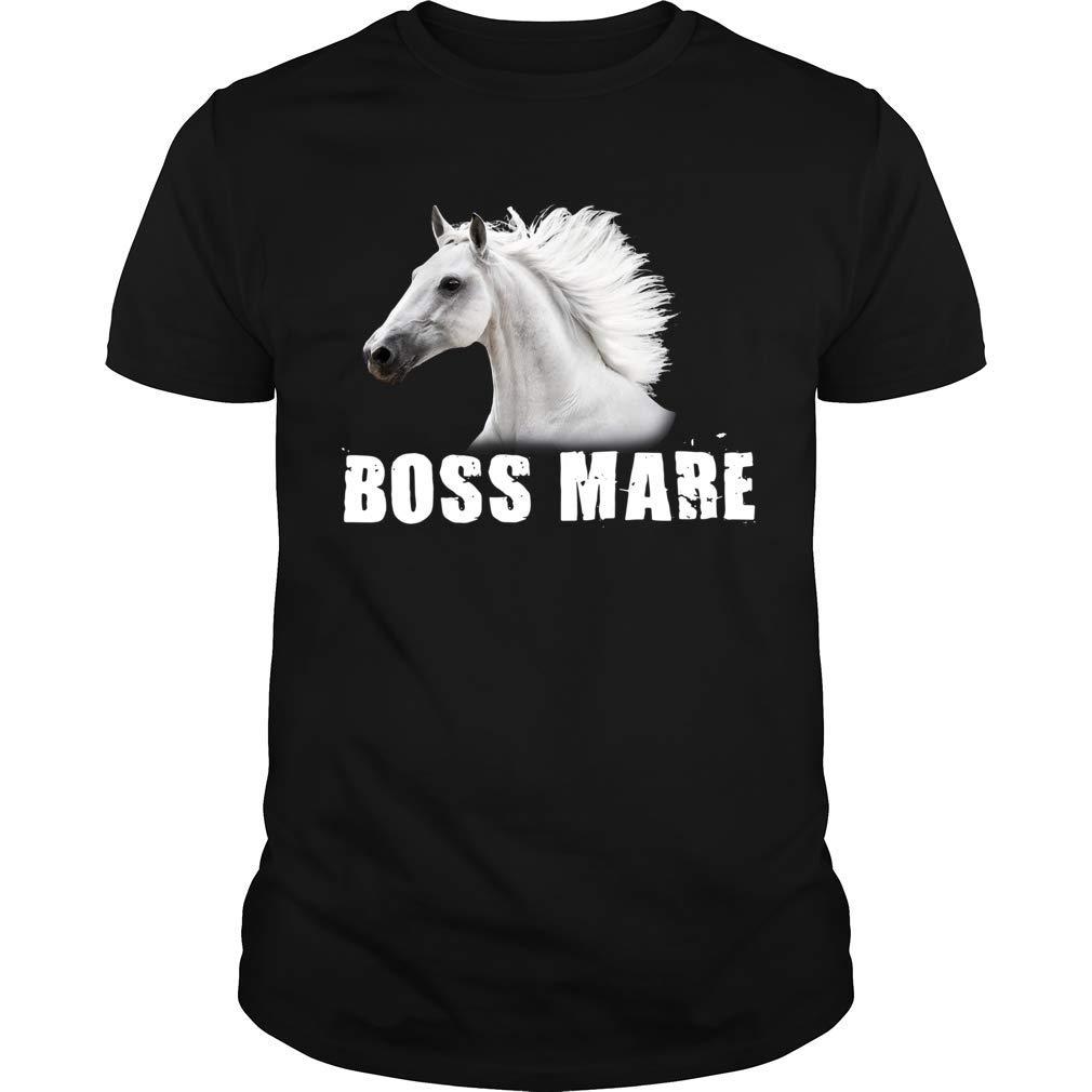 Boss Mare Horse For Horseback Riding Equestrians Ts Shirts