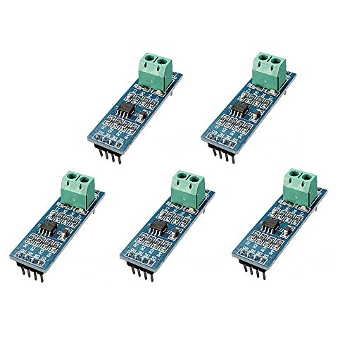 WINGONEER 5PCS 5V MAX485 / RS485 Module TTL to RS-485 MCU Development Board