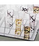 Tic Tac Toe Shot Glasses by Studio Silversmiths