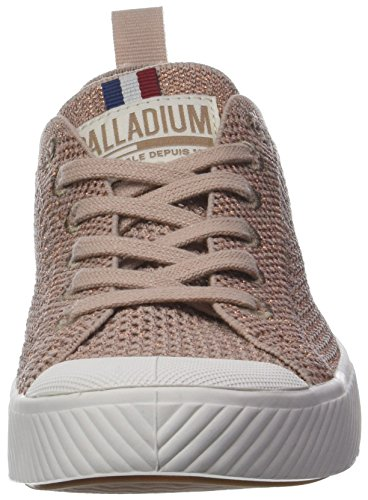 PALLAPHOENIX Femmes Baskets EU Rose Knit Palladium Copper Dust 36 Mixte L53 ItHqdAInw