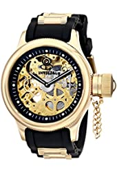 Invicta Men's 17265 Russian Diver Analog Display Mechanical Hand Wind Black Watch