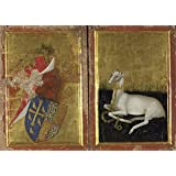 The polyster Canvas of oil painting 'English or French The Wilton Diptych ' ,size: 8 x 11 inch / 20 x 29 cm ,this Vivid Art Decorative Canvas Prints is fit for Study decor and Home decor and Gifts