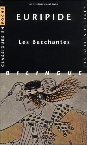 Book Euripide, Les Bacchantes (Classiques En Poche)