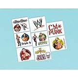 WWE Wrestling Temporary Tattoos (1sheet)