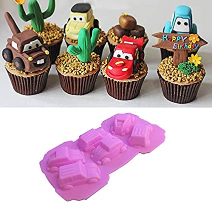 Silicone Cake Chocolate Mould DIY Fondant Decor Baking Ice Cube Tray Pan Tool