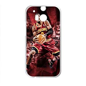 Happy Kyrie Irving Cleveland Cavaliers NBA Phone Case for HTC One M8