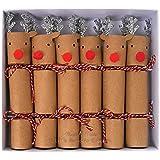 MERI MERI Mini Reindeer Christmas Crackers (6 Pack)
