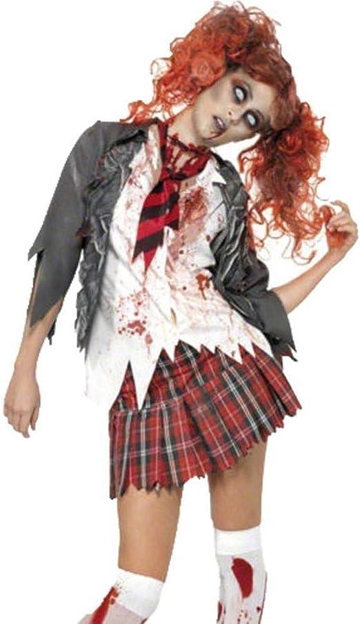 Fashion-Cos1 Disfraces Vestido de Enfermera Blanco Zombie Cosplay ...